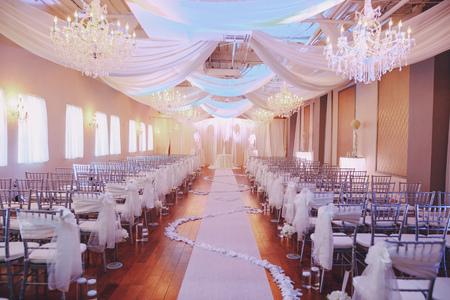 素敵な結婚式の日 写真素材
