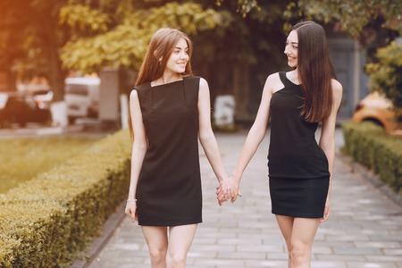 twee mooie meiden