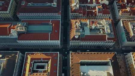 魅力的な街リスボンとそのサウナがありますから空の景色