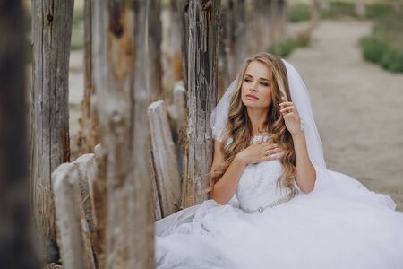 オデッサでの結婚式の日 写真素材 - 86797897
