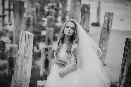 オデッサでの結婚式の日 写真素材 - 86797898