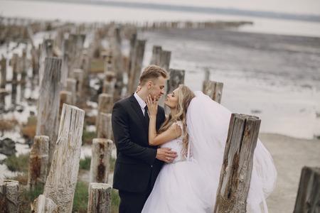 オデッサでの結婚式の日 写真素材 - 86871380