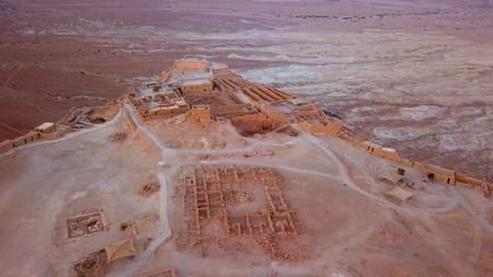 이스라엘의 사해에 의한 사막 비행 스톡 콘텐츠 - 98117408