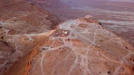 이스라엘의 사해에 의한 사막 비행 스톡 콘텐츠 - 98117411