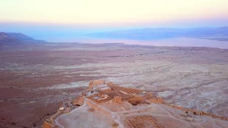 이스라엘의 사해에 의한 사막 비행 스톡 콘텐츠 - 98117432