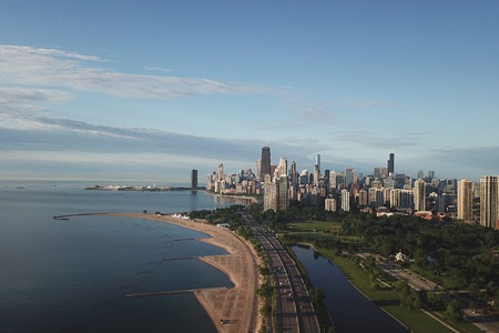view of downtown Chicago