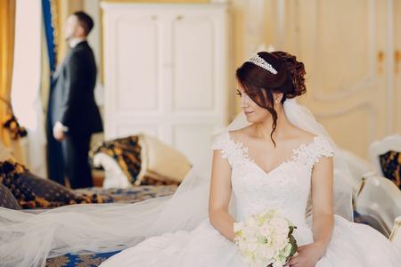 Turkse bruiloft Stockfoto