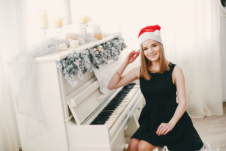 beauty christmas girl