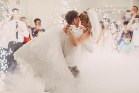 bruiloft eerste dans Stockfoto