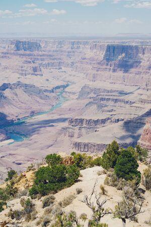 Grand Canyon nature footage in Arizona USA Фото со стока