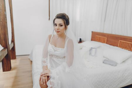 mariée élégante