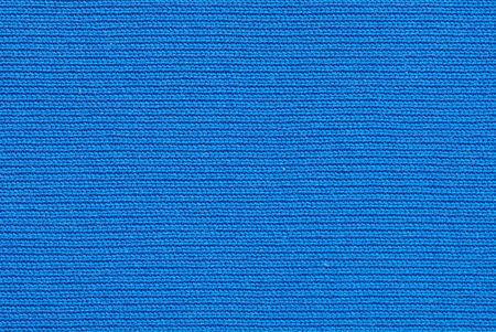tightly: Macro of deep blue tightly woven fabric texture background Stock Photo