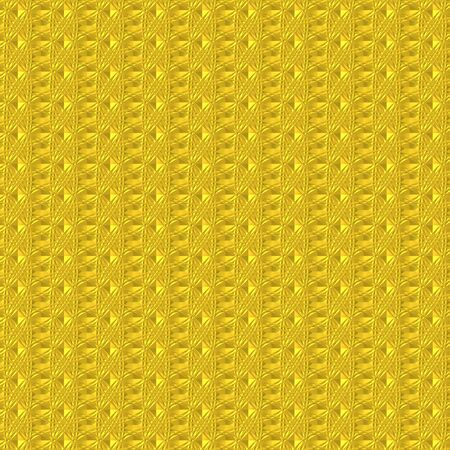 Abstract ornament of yellow color on a yellow background photo