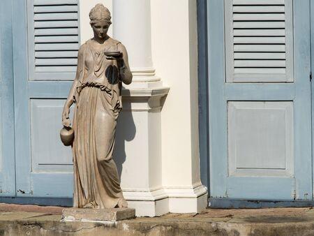 statuary: Statuary in the garden