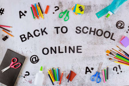 Sign back to school online with student school supplies.