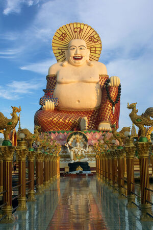 bellied Buddha temple