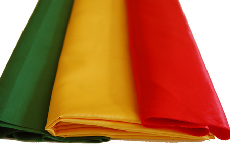 colore: Silk fabric in different colors.