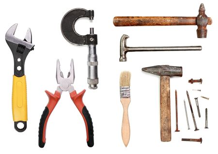 Used tool collection photo
