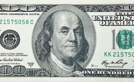 benjamin franklin: Angry President Benjamin Franklin on 100 US dollar bill