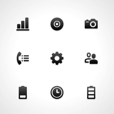 people icon set: Web site vector icons set