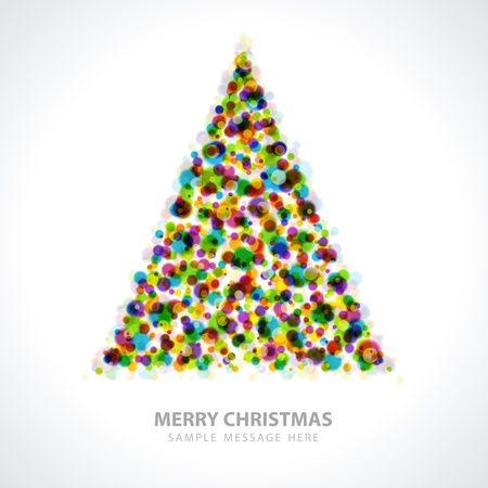 Christmas tree vector background Stock Vector - 15753438