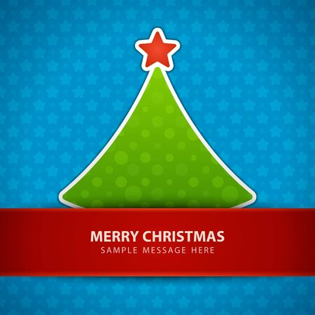 Christmas tree vector background Stock Vector - 15801038