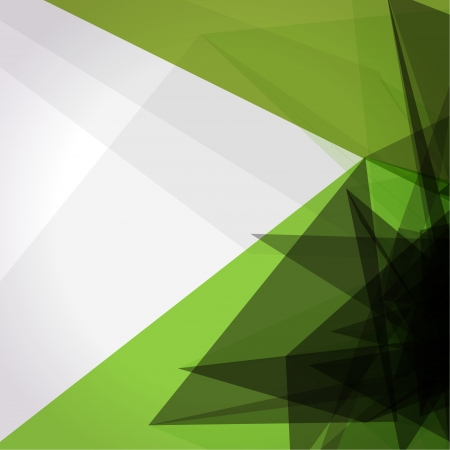 origami banner: Abstract 3d geometric background Illustration