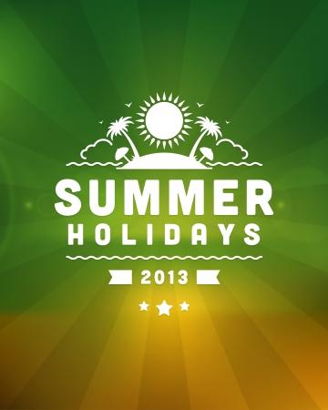 ausflug: Retro Sommer dieses Design Vektor-Illustration