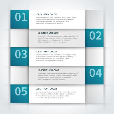 papírnictví: papírové linky a čísla designu šablony