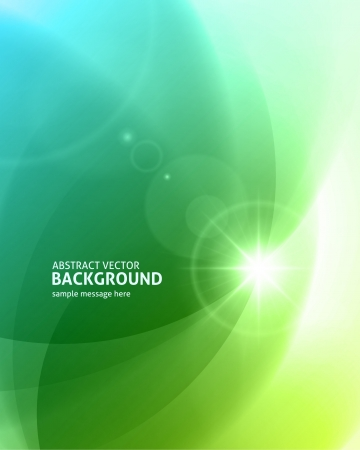 bokeh: Lens flare light abstract background