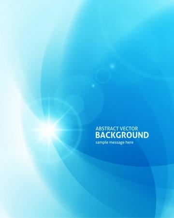 Blendenfleck Licht abstrakten Hintergrund Vektorgrafik