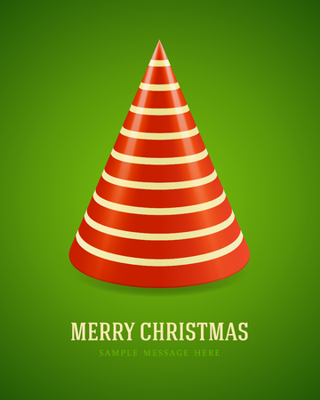 Christmas tree background  Vector illustration Vector