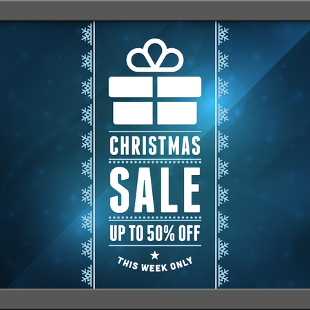 Christmas sale background  Vector illustration Eps 10   Vector