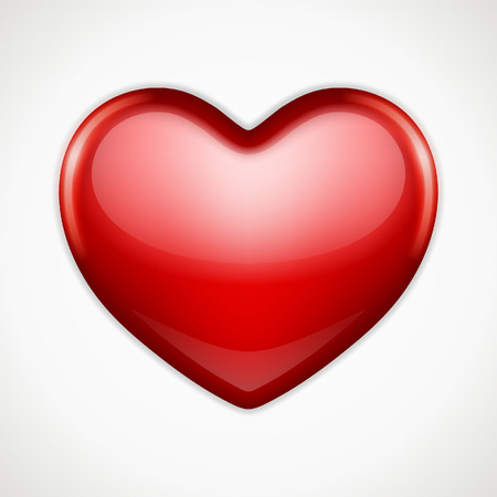 shiny heart: Shiny heart shape vector background  Valentines day