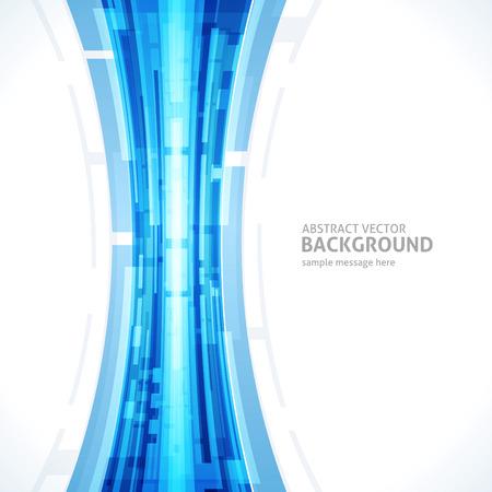 Las líneas de fondo de tecnología abstracta vector digital