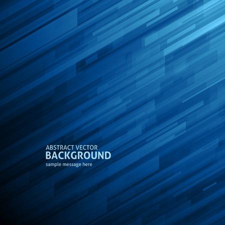 azul: Hexágono líneas geométricas resumen de antecedentes vector cartel o banner diseño geométrico Vectores