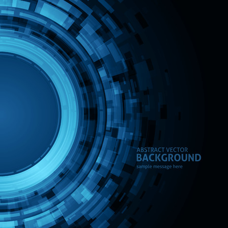 lines background: Abstract geometric circle lines background Illustration