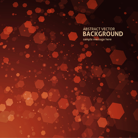 lines background: Abstract geometric hexagon lines background Illustration