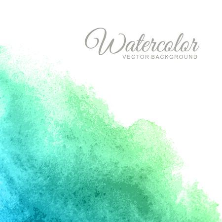 regenbogen: Abstracte aquarel vector achtergrond Stock Illustratie