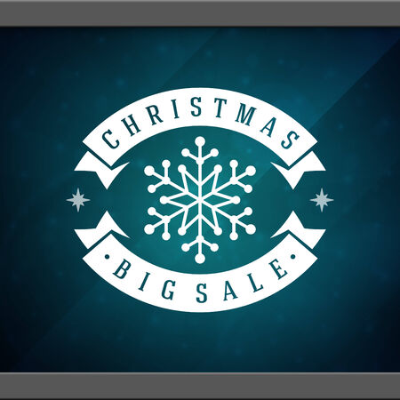 happy new year text: Christmas sale advertising and window background. Vector illustration Eps 10. Illustration