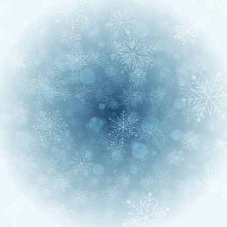 happy new year text: Christmas light with snowflakes. Merry Christmas holidays wish greeting card. Vector background Eps 10. Illustration