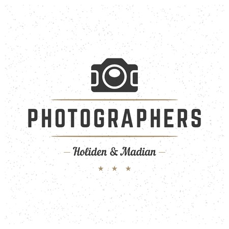 Retro Vintage Insignia or Logotype Vector design element, business sign template. Illustration