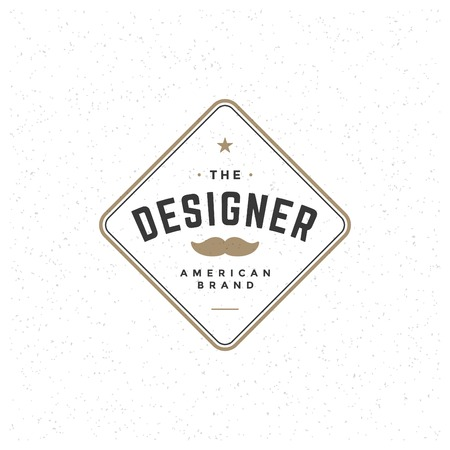 business sign: Retro Vintage Insignia, Logoty Label or Badge Vector design element, business sign template. Illustration