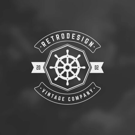 business sign: Retro Vintage Insignia, Label or Badge Vector design element, business sign template.