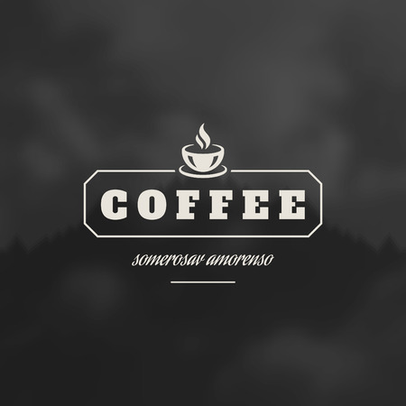 Coffee Shop Design Element in Vintage Style