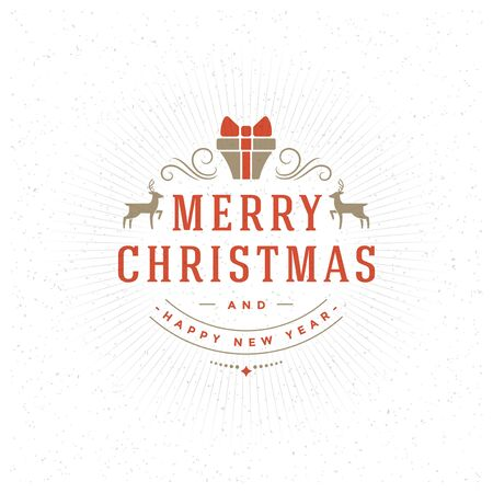 wishes: Merry Christmas Greeting Card and Decoration Vector Background. Happy new year message, Happy holidays wishes. Illustration