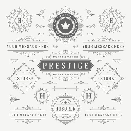 luxury: Flat line Digital Marketing Concept Vector illustration. Modern thin linear stroke vector icons.