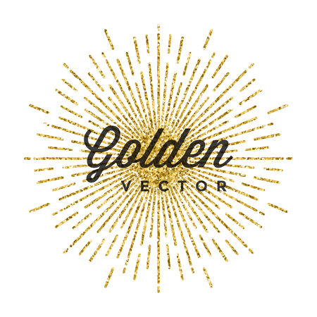 advertising text: Gold Glitter Sparkles Bright Confetti Black Vector Background. Good for Greeting Gold Cards, Luxury Invitation, Advertising, Voucher, Certificate, Banners, Quote Mark Text. Golden Texture, Shiny Gold.