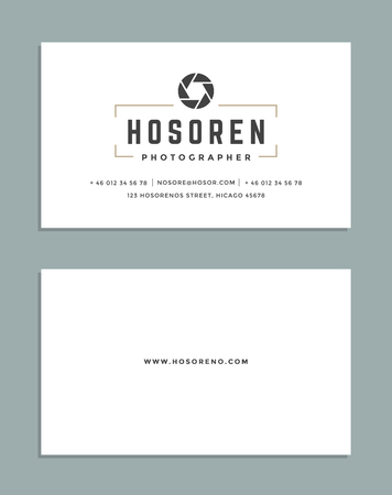 business card design: Business Card Design and Retro Style   Template. Vector Design Element Vintage Style for Label. Business Card Template.