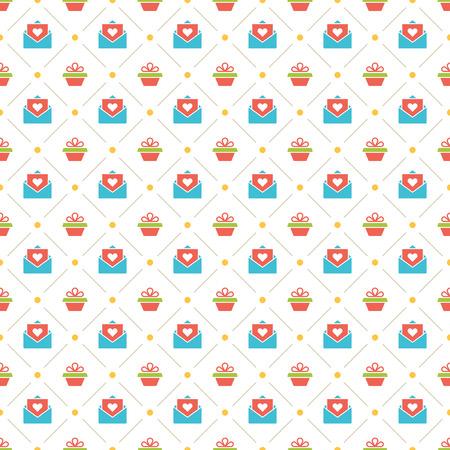 birthday party: Happy Birthday Seamless Pattern Vector Design
